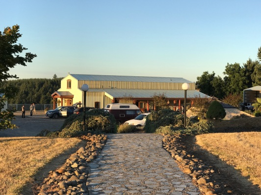 The tasting room, Cubanisimo Vineyards