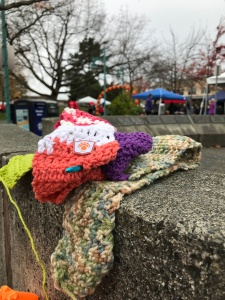 The Ugly Scarf at Marina Park, Kirkland WA
