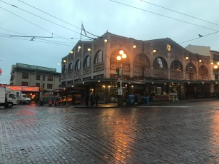 Early morning at Seattle's Pike Place Market