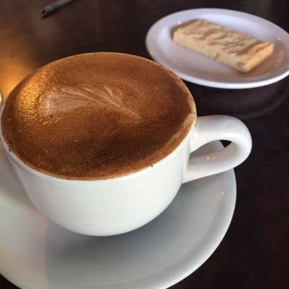 Time for a latte!