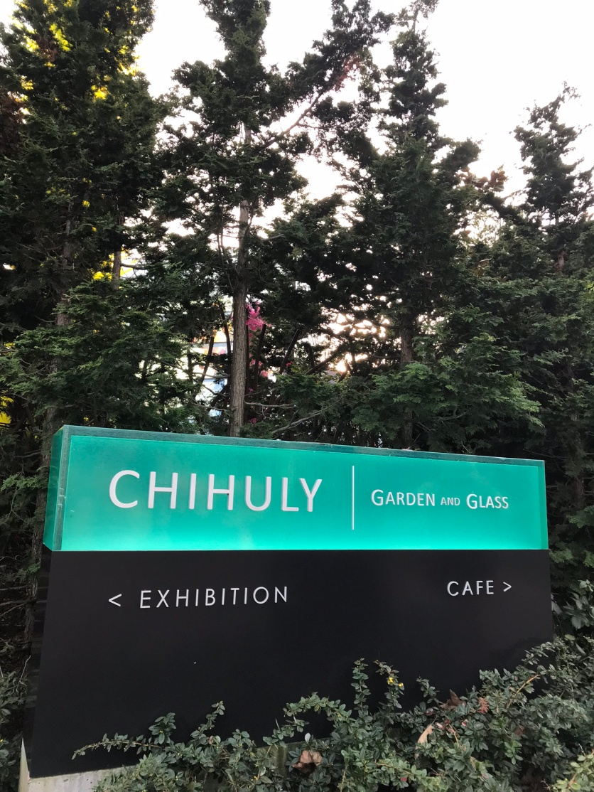 You'll find Chihuly Garden and Glass at the base of the Space Needle--the 1962 World's Fair landmark that is currently undergoing a remodel.