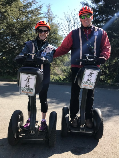 """On tour"" with our Segways"
