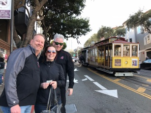 Cable car fun, San Francisco
