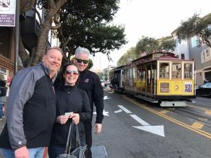 Cable car fun, San Francisco