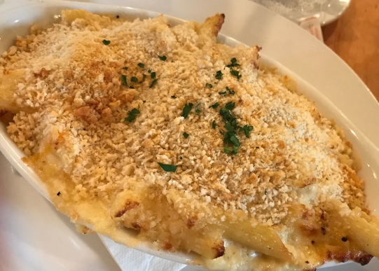 Crab Mac-n-Cheese!