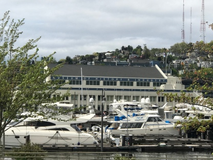MOHAI overlooking South Lake Union