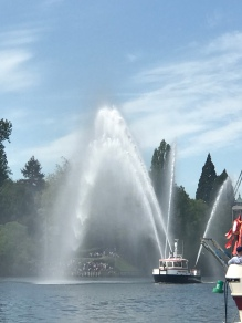 Opening Day Boating at the Montlake Cut