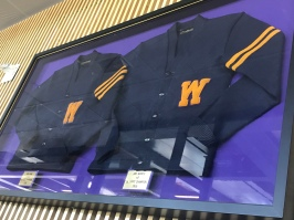 Letterman jackets of the 1936 team