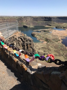 The Ugly Scarf at Dry Falls Visitor Center