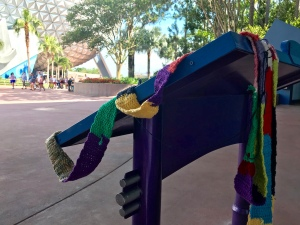The Ugly Scarf at EPCOT