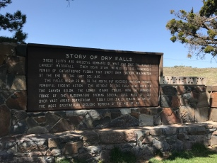 Dry Falls Visitor Center info