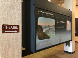 Inside the Dry Falls Visitor Center