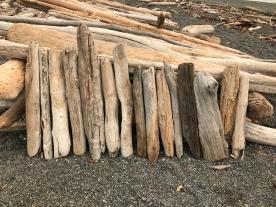 Organized driftwood...