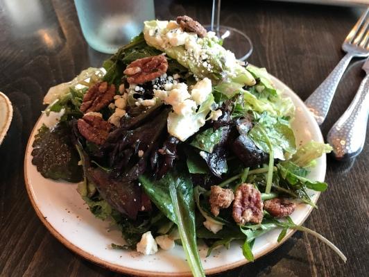 A tall salad...