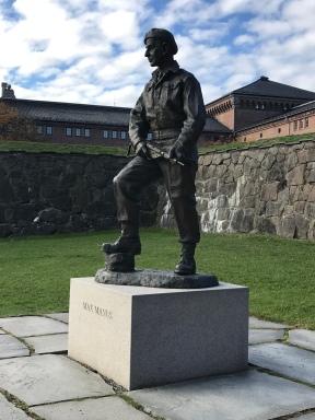 Max Manus, famous Norwegian WWII veteran