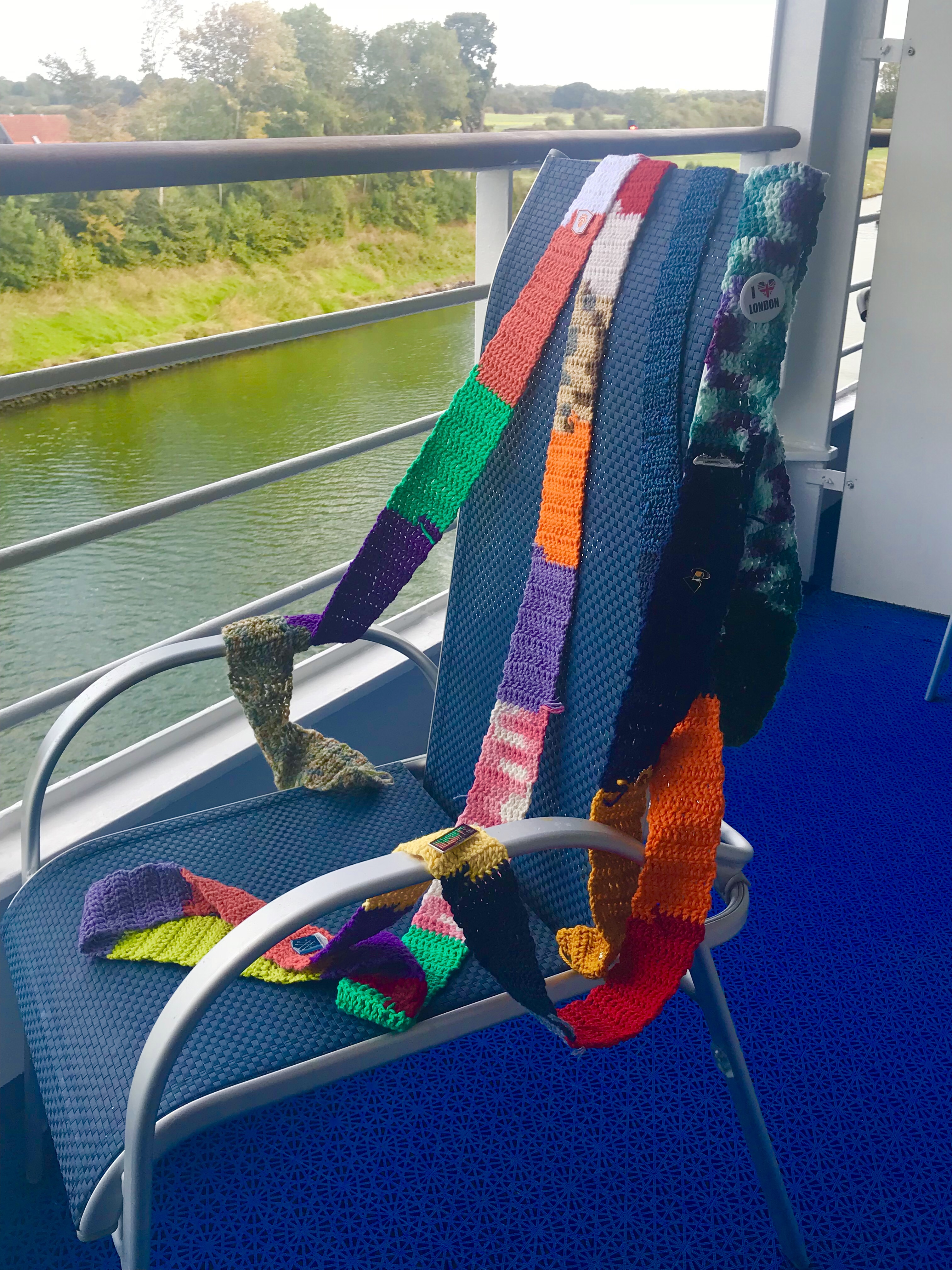 The Ugly Scarf visits the Kiel Canal
