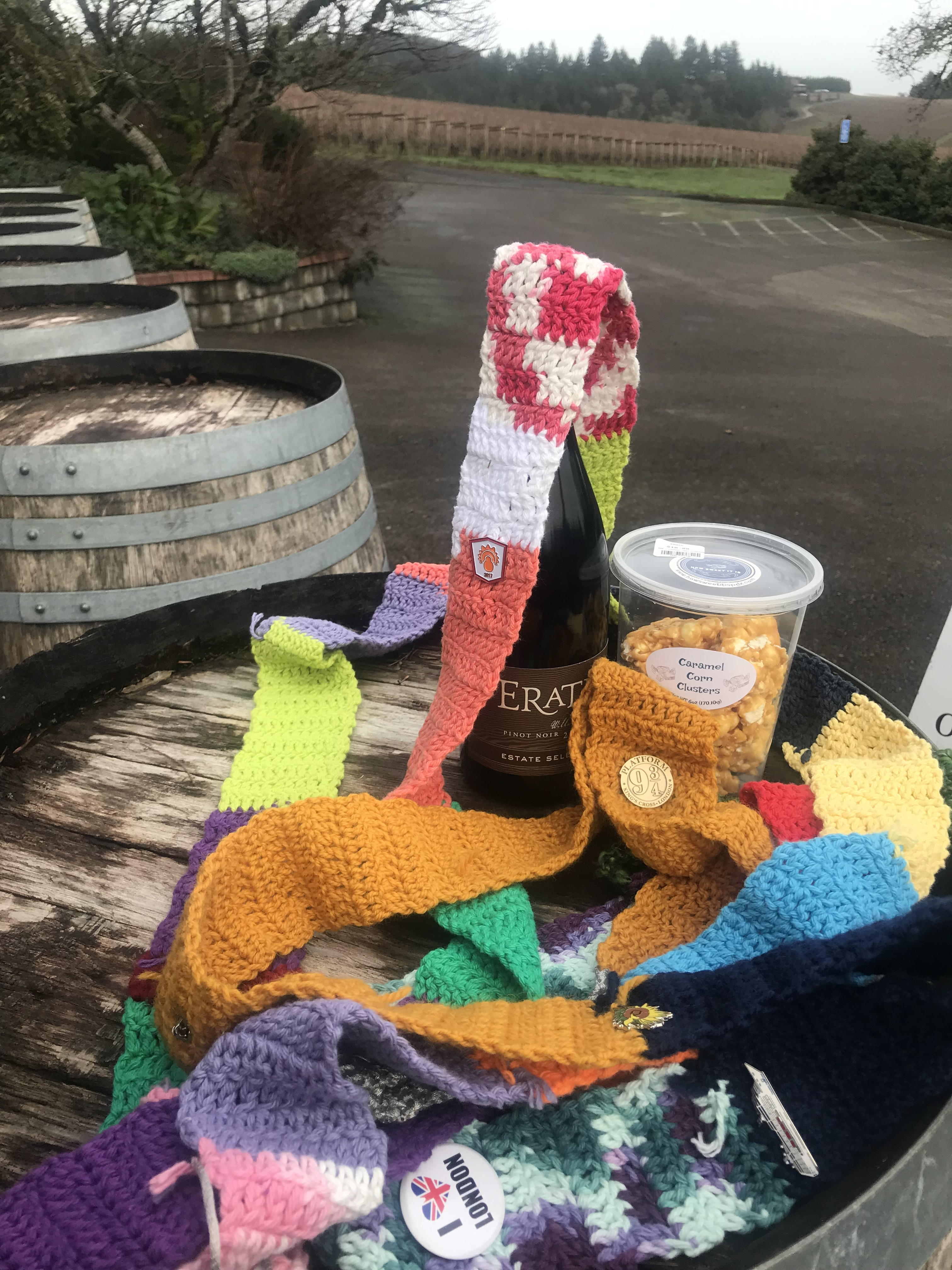 The Ugly Scarf at Erath Winery