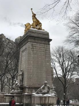 Enter Central Park