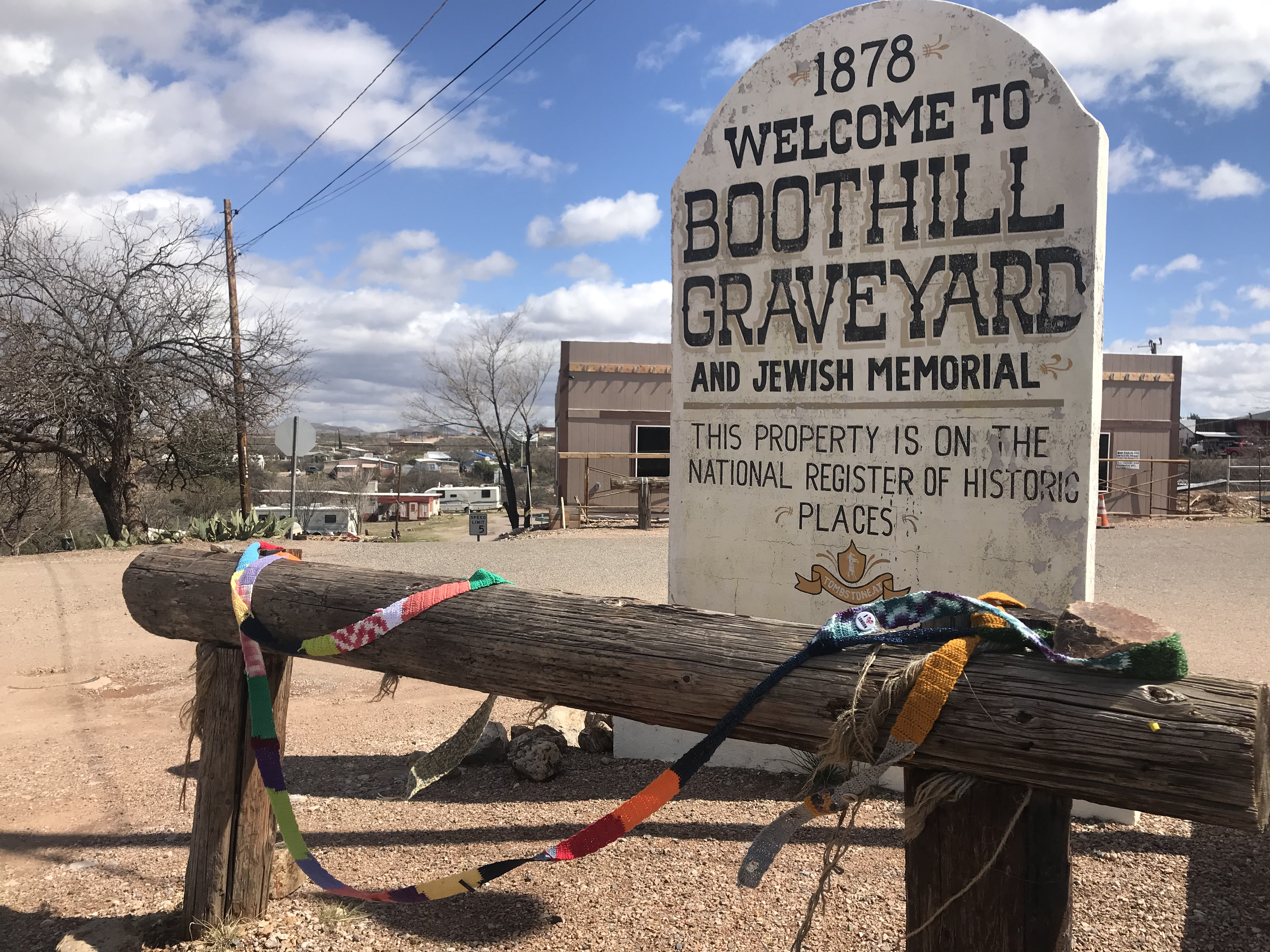 The Ugly Scarf at the Boothill Graveyard and Jewish Memorial