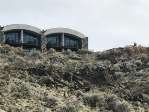Cliffside rooms