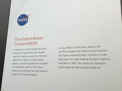 NASA is born