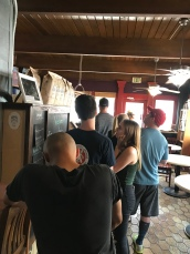 Inside Cafe Moro