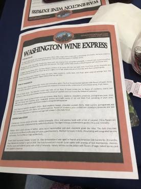 Wine menu front