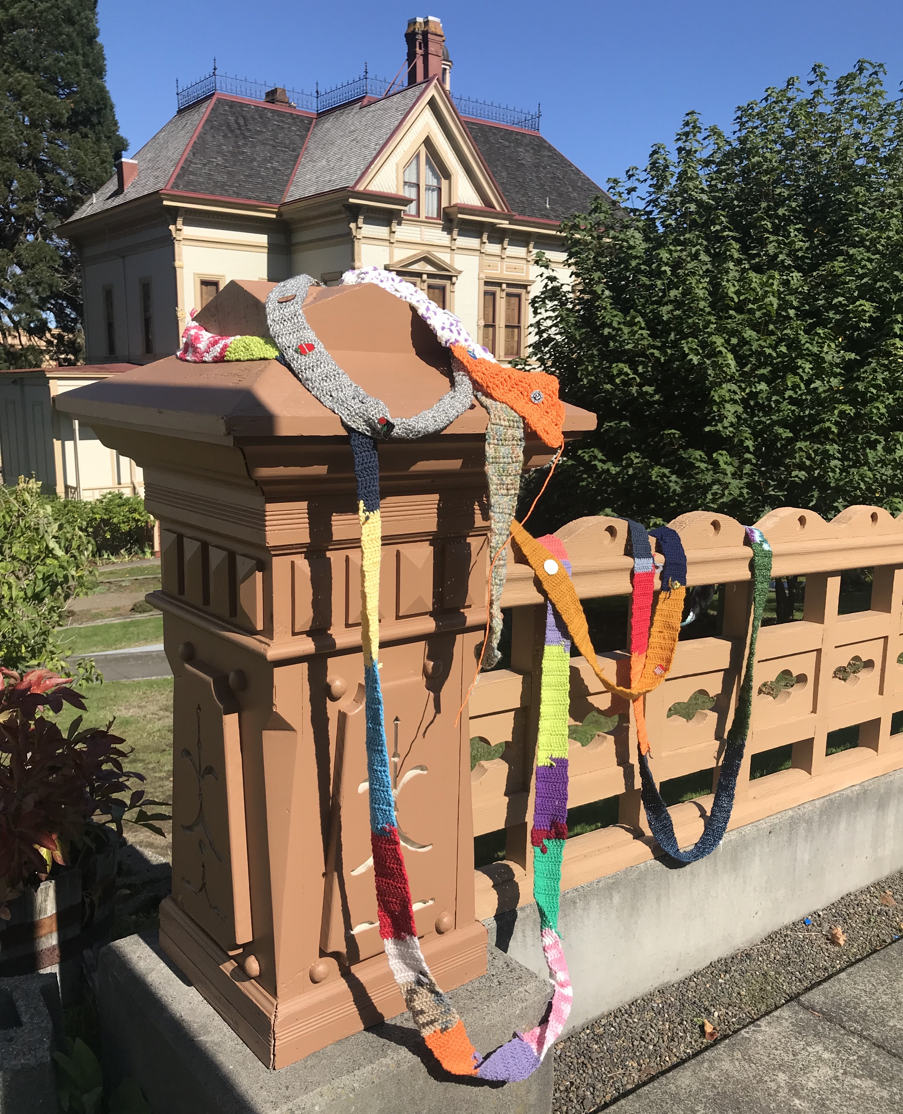The Ugly Scarf in Astoria, Oregon