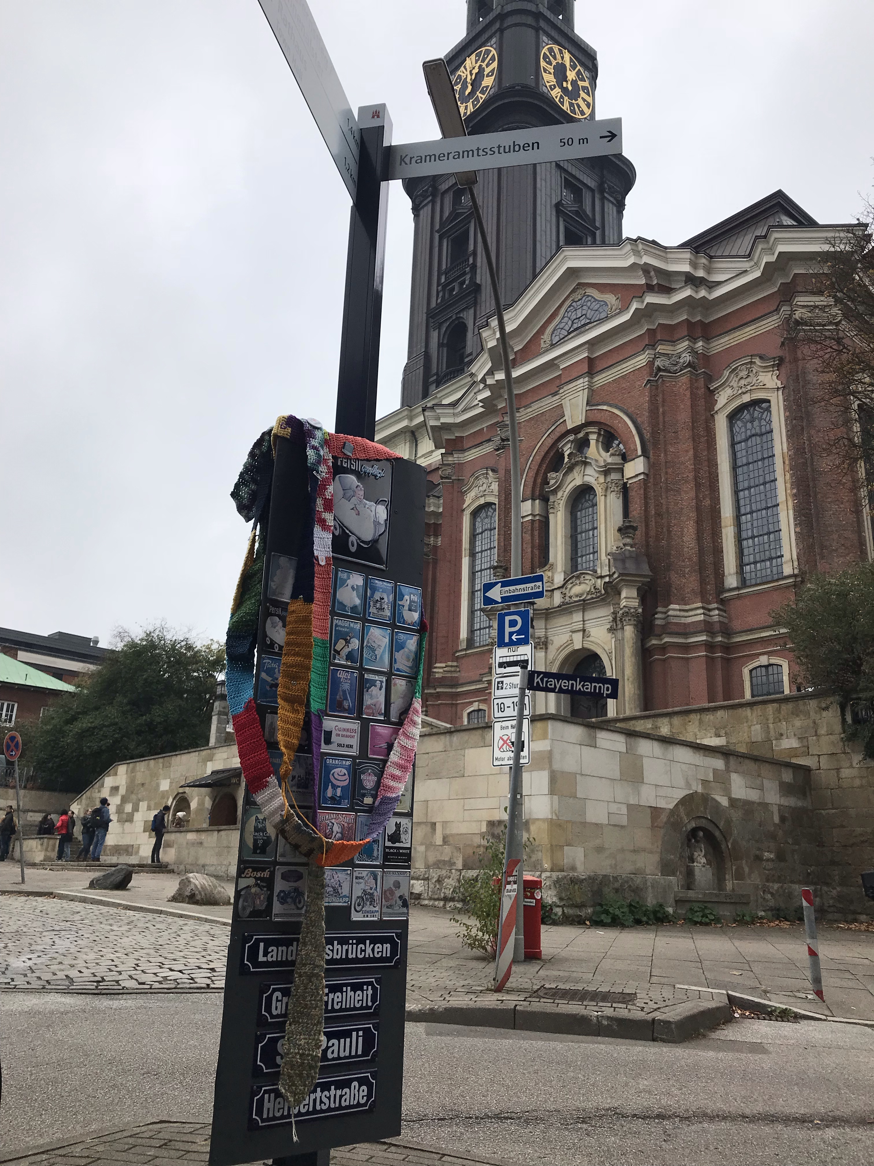 The Ugly Scarf visits St. Michael's Church